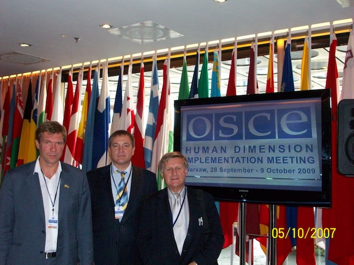 Advocacy OSCE/ Linguistic Issues in Ukraine (Warsaw)
