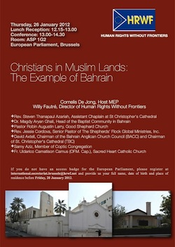 Christians in Muslim Lands: The Example of Bahrain